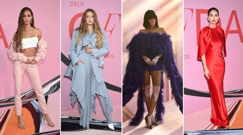 Las supermodelos mejor vestidas de los CFDA Fashion Awards 2019. Fotos: AP